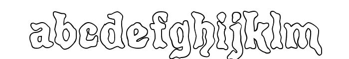Poultrygeist Out Font LOWERCASE