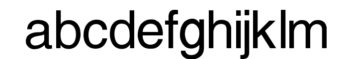 Protestant Font LOWERCASE