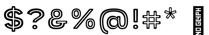 Provoke Inline-Rounded Font OTHER CHARS