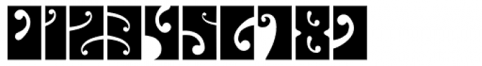 Psychedelic Fillmore East Font OTHER CHARS