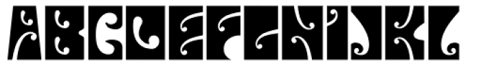 Psychedelic Fillmore East Font LOWERCASE