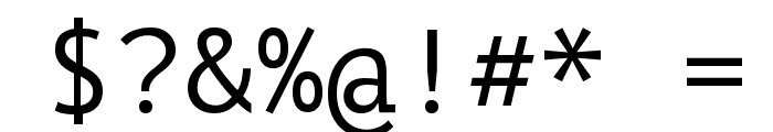 PT Mono Font OTHER CHARS