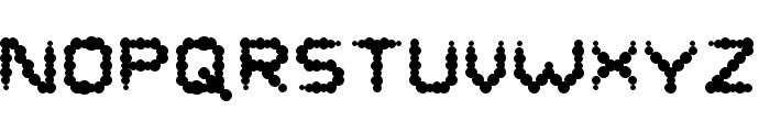 Puffy Regular Font UPPERCASE