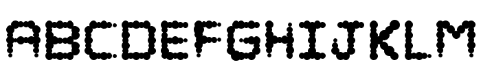 Puffy Regular Font LOWERCASE