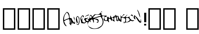 Pulsate Font OTHER CHARS
