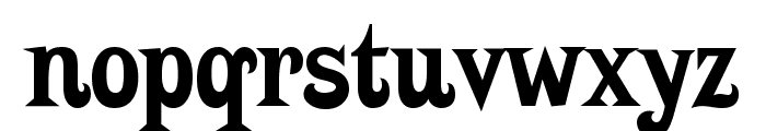 Putain Font LOWERCASE