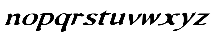 Queen & Country Italic Font LOWERCASE