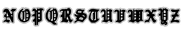 Quest Knight Academy Font UPPERCASE