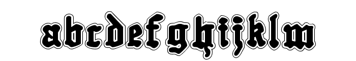 Quest Knight Academy Font LOWERCASE