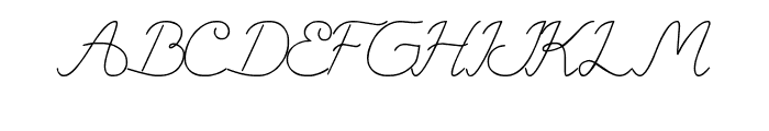 Question of Science Font UPPERCASE