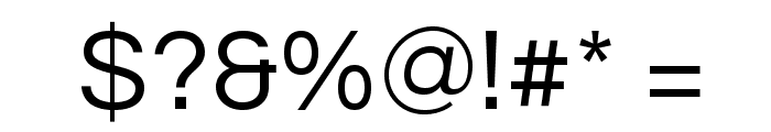 Questrial-Regular Font OTHER CHARS