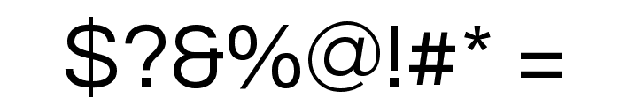 Questrial Font OTHER CHARS