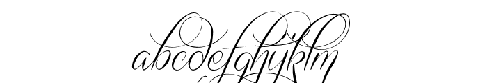 Quickier Demo Font LOWERCASE