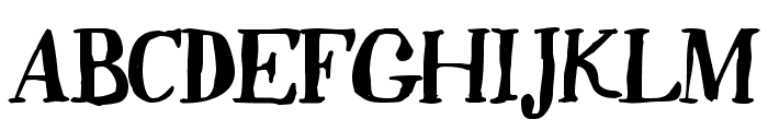 Quincy Font UPPERCASE