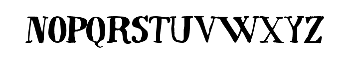 Quincy Font LOWERCASE