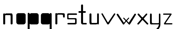 Quirky Font LOWERCASE