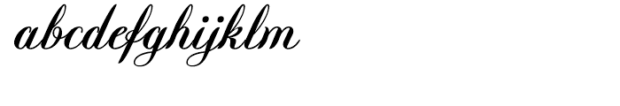 Querida Normal Font LOWERCASE