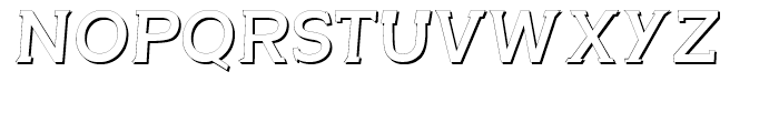 Questy Shadow Font UPPERCASE