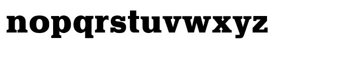 Quint Extra Bold Font LOWERCASE