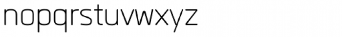 Quan Rounded Light Font LOWERCASE