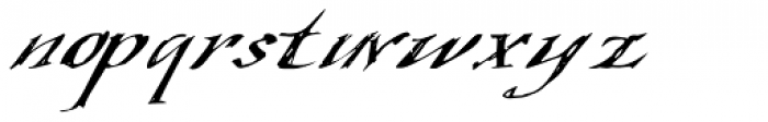 Queensland Font LOWERCASE
