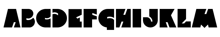Qweckle Font UPPERCASE