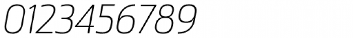 Ranelte Normal Thin Italic Font OTHER CHARS