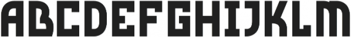Red Storm ttf (400) Font LOWERCASE