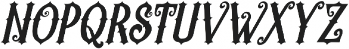 Revorioum Regular otf (400) Font UPPERCASE