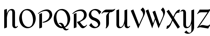 Redressed Font UPPERCASE