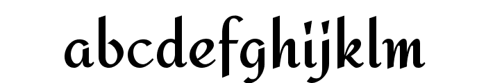 Redressed Font LOWERCASE