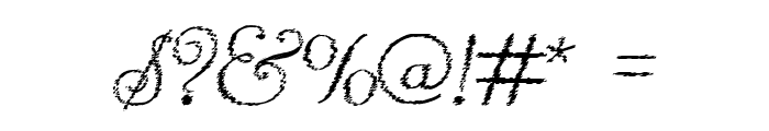 Reliant Trash Font OTHER CHARS