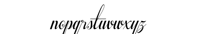 Respective Font LOWERCASE