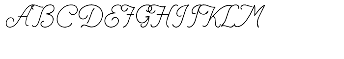 Renania Regular Font UPPERCASE