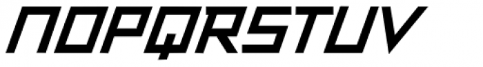 Resistance Is Lowered Bold Italic Font UPPERCASE