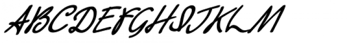 Retrouvailles Italic Font UPPERCASE
