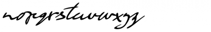 Retrouvailles Italic Font LOWERCASE