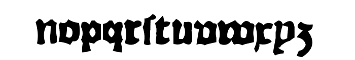 RhymeChronicle1494 Font LOWERCASE