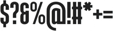 Ristretto Pro otf (700) Font OTHER CHARS