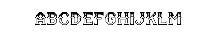 RM Serifancy Regular Font LOWERCASE