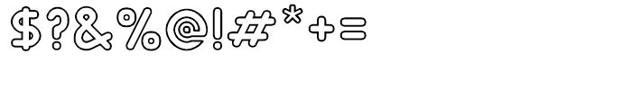 RM Smoothsans Outline Font OTHER CHARS