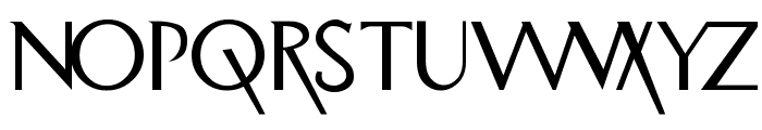Road-to-Perdition Font LOWERCASE
