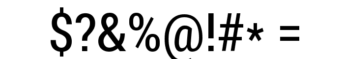 Roboto Condensed Font OTHER CHARS