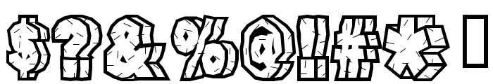 RockFont Font OTHER CHARS