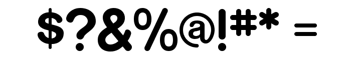 RockoFLF-Bold Font OTHER CHARS