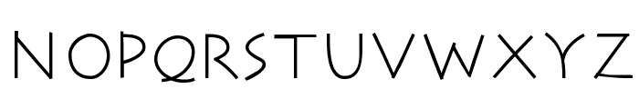 RomaCesare-Normal Font UPPERCASE