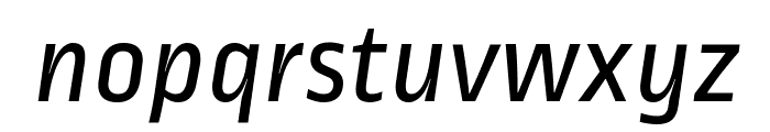 Ropa Sans Italic Font LOWERCASE