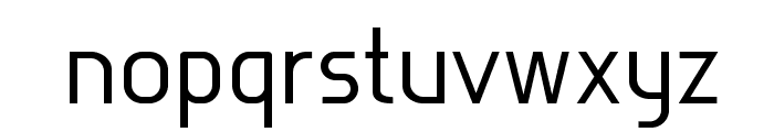 Rotor-Demo Font LOWERCASE