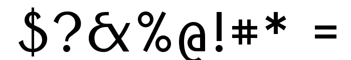 Round Style Basic Font OTHER CHARS