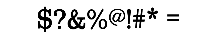 RoundslabSerif Font OTHER CHARS